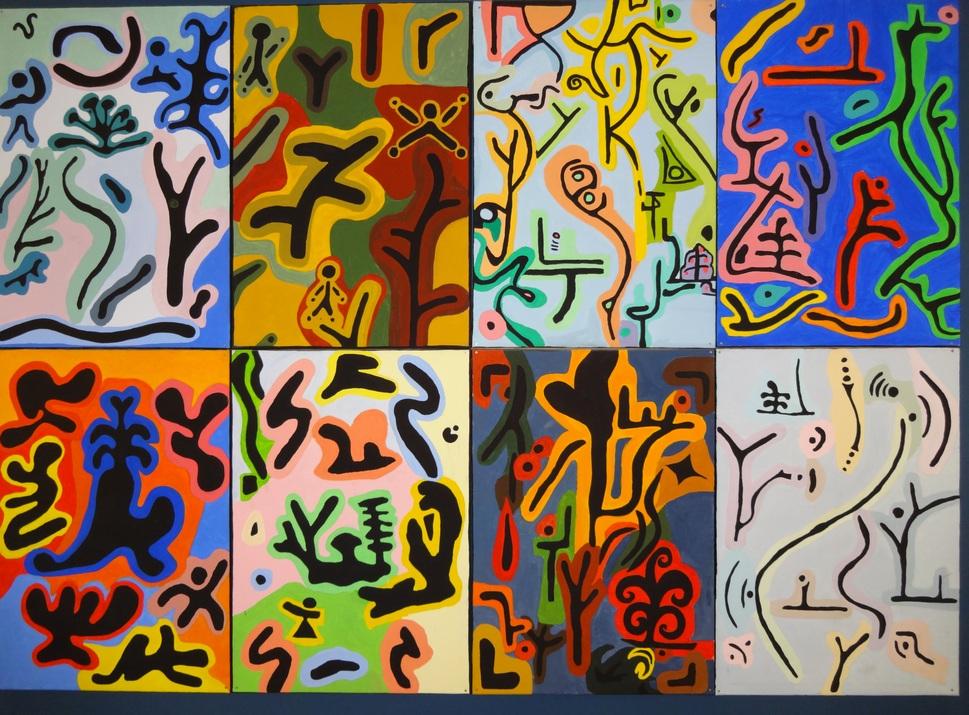 Formen und Farben