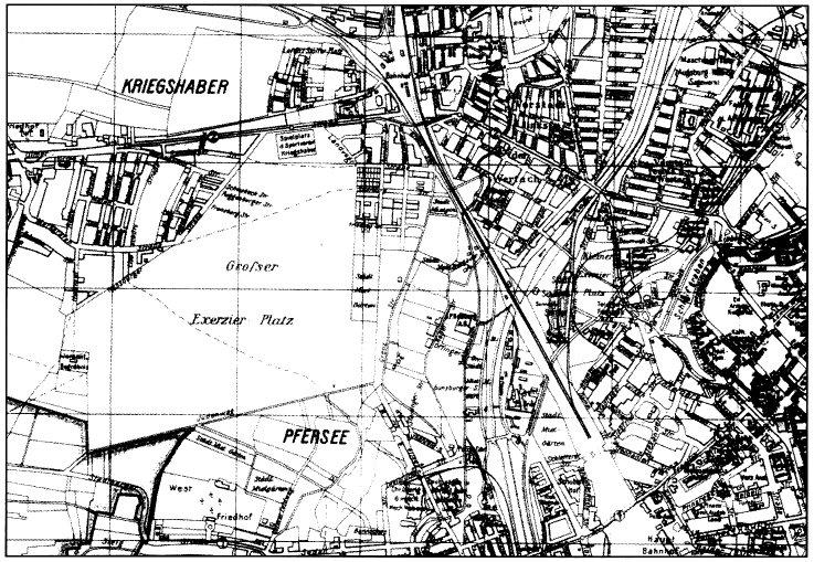 Stadtplan 1930
