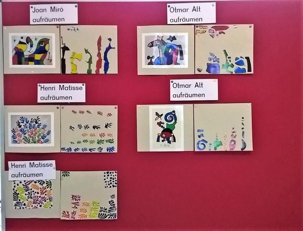 kunstprojekt grundschule miro