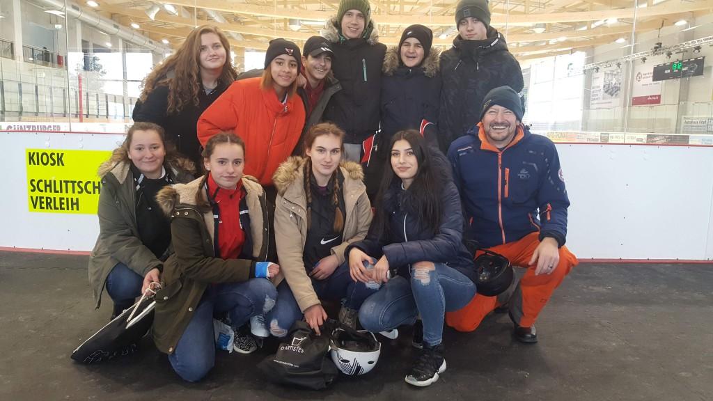 Eisschnelllauf Burgau